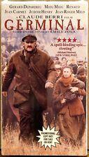 SEALED PROMOTIONAL Germinal (VHS, 1994) BERRI Depardieu Miou-Miou FRANCE