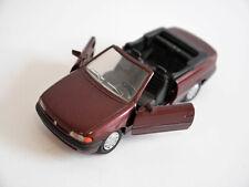 Opel Astra F Cabrio Cabriolet dunkel rot rouge dark red metallic, GAMA in 1:43!