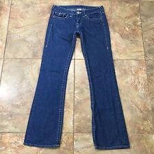 True Religion Hi-Rise Boot Button Flap Jeans Size 29x32 C406