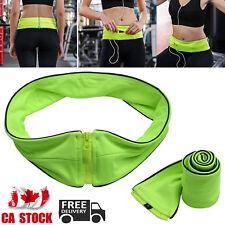 Waist Exercise Fitness Running Belt Bag Flip Style Pouch For Mobile Cash Keys CA