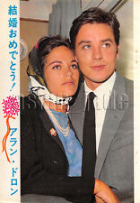 1964, Alain Delon & Nathalie Delon Japan Vintage Clippings 4et11
