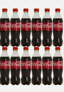 Coca Cola Cherry Bottle 24 x 500ml BBE 01/03/21