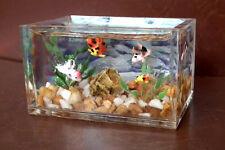 1/12, dolls house miniature Fish Tank Aquarium Bowl Handmade Rare Table Desk LGW