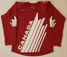 RARE Alternate TEAM CANADA Authentic NIKE HOCKEY JERSEY SIZE ADULT S 46 NOT WORN