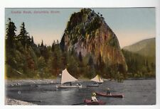 [52355] 1915 Postcard Castle Rock On The Columbia River