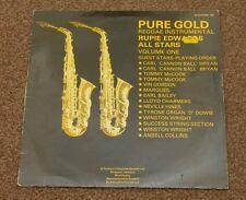 RUPIE EDWARDS ALL STARS: PURE GOLD, REGGAE INSTRUMENTAL - VINYL / LP - TESTED