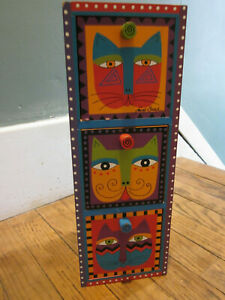 Laurel Burch Jewelry Box with Necklace and Earrings
