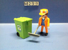 (M239) playmobil eboueur année 2000 ref 3196 3121