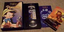 Pinocchio Digital Special Edition WALT DISNEY UK PAL VHS VIDEO 2003 Dick Jones
