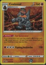 Pokemon Coalossal SWSH054 black star promo mint condition