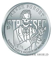 2018 1 oz  STRATESEC BU NEVER FORGET  #8 SILVER SHIELD GROUP SSG 777