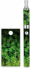 Battery Decal Wrap For: Evod 1100mAh MT3 Vinyl Mod Skin + Free Tank Wrap -WEED