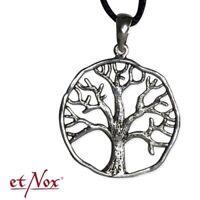 Echt etNox Lebensbaum Anhänger 925er Silber Symbol Schmuck - Neu