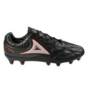 Men's Pirma Soccer Cleats 3021 Black/Red Firm Ground