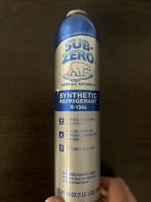 SUB-ZERO AUTO A/C RECHARGE SYNTHETIC REFRIGERANT R-134a 345V 18 ounce.Used Once.