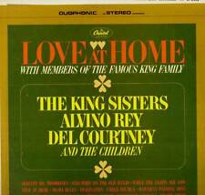 EASY LISTENING LP LOVE AT HOME THE KING SISTERS ALVINO REY DEL COURTNEY