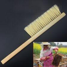 40cm Beekeeping Bee Brush Beekeeper Beehive Tool Bristle Wooden Handle EW