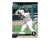 2020 MLB Topps Now LUIS ROBERT card #204 Chicago White Sox AL Rookie of Month