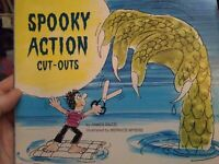 SPOOKY ACTION CUT-OUTS - James Razzi Good condition * Bernice Myers illustration