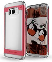 For Galaxy S8 Case | Ghostek CLOAK Slim Clear Hybrid Shockproof Bumper Cover