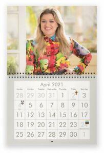 KELLY CLARKSON 2021 Wall Calendar