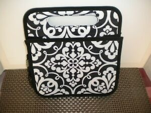 Thirty-one Double Duty Caddy Black and White Design