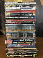 Huge TPB Comic Hardcover Lot Sandman Preacher Buffy Batman Spiderman 50 Books