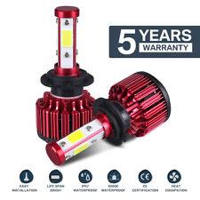 1Pair 120W Car H7 LED Headlight Kit Bulbs 6500K 10800LM Xenon White C6 IP68 Lamp