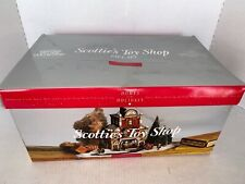 Dept 56 Christmas in the City Scottie'S Toy Shop Gift set 10 #58871