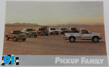 4X4 STAKE STEP S-10 PICKUP TRUCK PROMO 1991 91 CHEVY DEALER DEALERSHIP POSTCARD