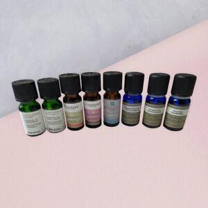 Set of essential oils: Neals Yard, Tisserand, Aroma Home, Muji