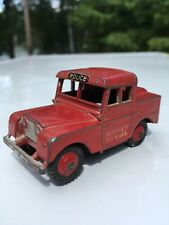 Dinky Toys 255G Land Rover Mersey Tunnel Police Red 1955 Made in England Mecanno