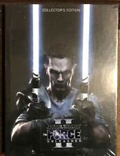 STAR WARS THE FORCE UNLEASHED 2 COLLECTOR'S EDITION HARDBACK STRATEGY GUIDE