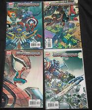 Marvel MEGA MORPHS #1-4 - 4pc Count Mid-High Grade Comic Lot VF-NM Spider-Man