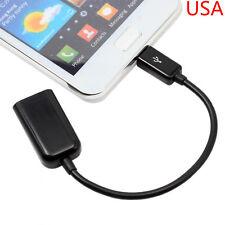 USB Host OTG Adapter Cord For Samsung Galaxy Tab Pro 10.1 SM-T520 T525 Tablet PC