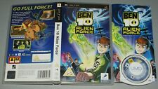 Ben 10 Alien Force - Sony PSP Game PlayStation Portable - Complete
