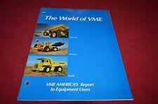 Volvo BM Michigan Euclid Buyers Guide Dealers Brochure DCPA2