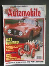 The AUTOMOBILE Magazine-September 2000-Mercer,MG Magnette,Fiat 8V,Ford Z + more
