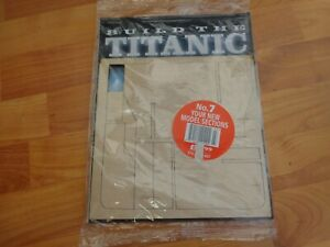 1/250 HACHETTE BUILD THE TITANIC MODEL SHIP ISSUE 7 INC PART PICTURED