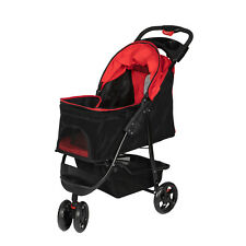 Dog Pet Foldable Stroller Travel Carriage Portable Carrier
