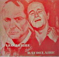 ++LÉO FÉRRÉ chante baudelaire vol 1 TEALDI LP BARCLAY le spleen/epigraphe VG++