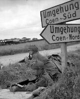 "British Army in Normandy Invasion 8""x 10"" World War II WW2 Photo 630"