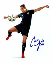 CARLI LLOYD Signed USA WORLD CUP SOCCER Photo w/ Hologram COA