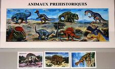 GUINEA 1999 2348-58 Dinosaurier Dinosaurs Prehistoric Animals Fauna Tiere MNH