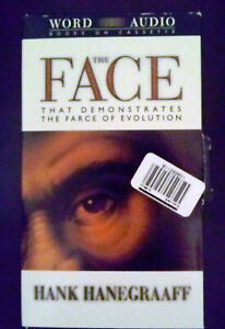 THE FACE THAT DEMONSTRATES THE FARCE OF EVOLUTION AUDIO CASSETTES SET HANEGRAAFF