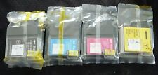 Set of 4 Ink Cartridges for Brother Printers B-LC11/16/38/61/65/67/980/990/1100