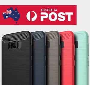 Luxury Samsung Galaxy S8 / S8 Plus Slim TPU/Gel/Rubber Hard Premium Case Cover