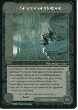 MIDDLE EARTH THE DRAGONS RARE CARD SHADOW OF MORDOR, grade 9/10