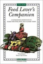 The New Food Lover's Companion by Sharon Tyler Herbst (2001, Paperback)