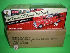 TEXACO 1955 WARD LAFRANCE PUMPER - #4 Fire Truck Series - NEW - MINT IN BOX